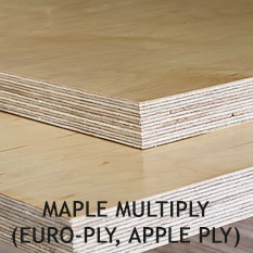 Maple Multiply Plywood